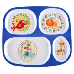 Kids Jungle Collection Dinner Tray