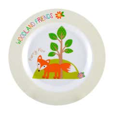 Kids Woodland Collection Dinner Plate