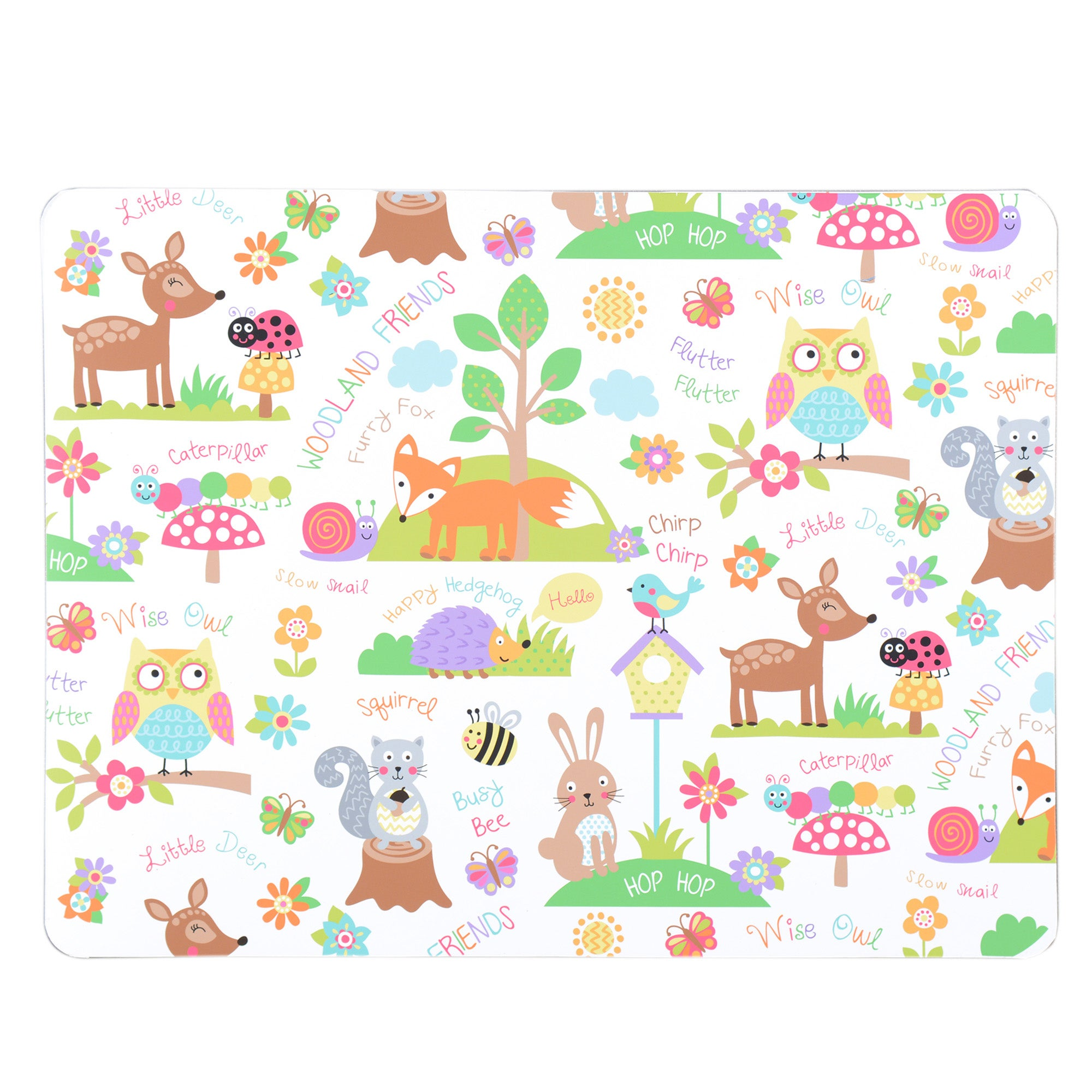 Kids Woodland Collection Cutting Board