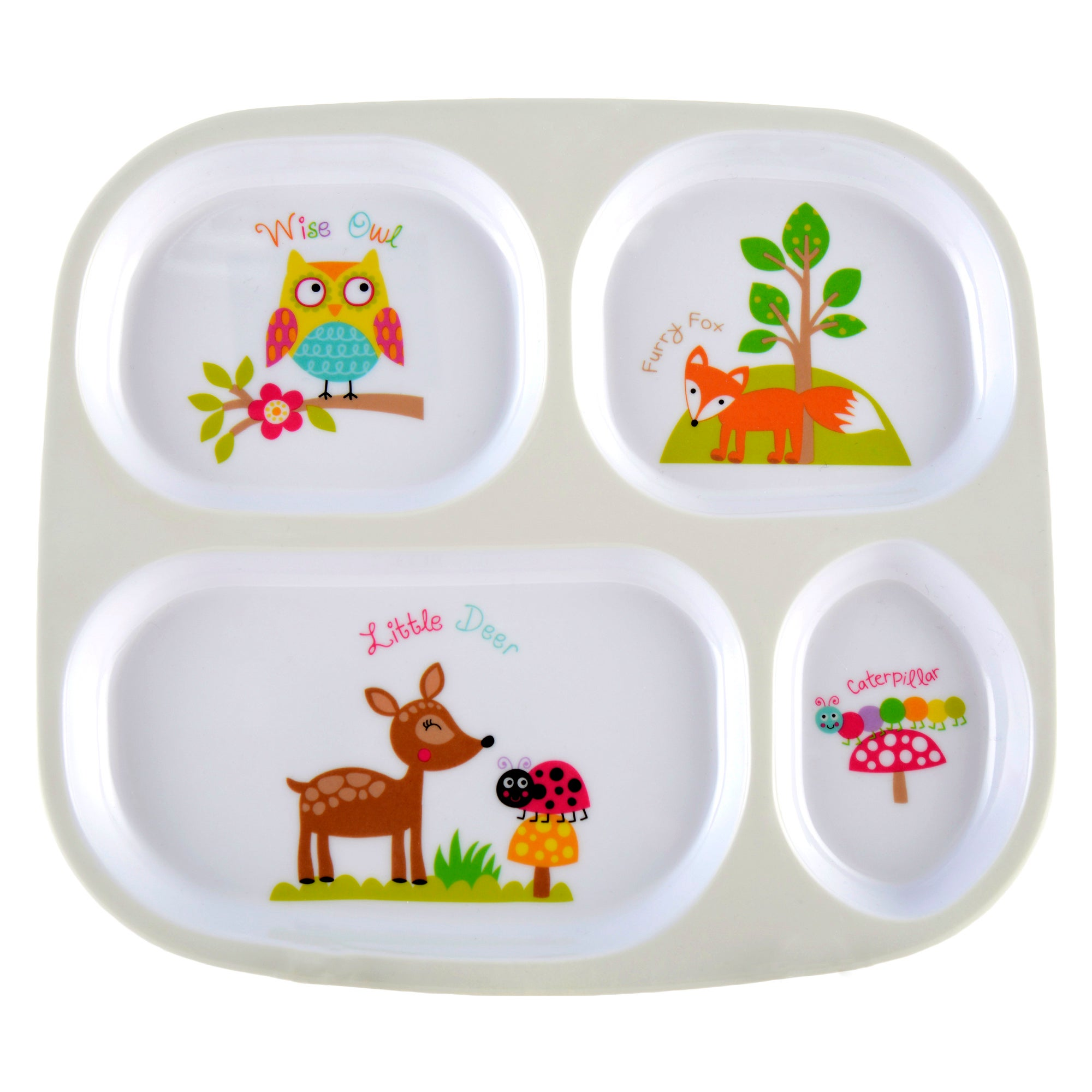 Kids Woodland Collection Dinner Tray