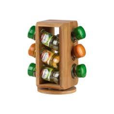 Schwartz 6 Jar Revolving Spice Rack