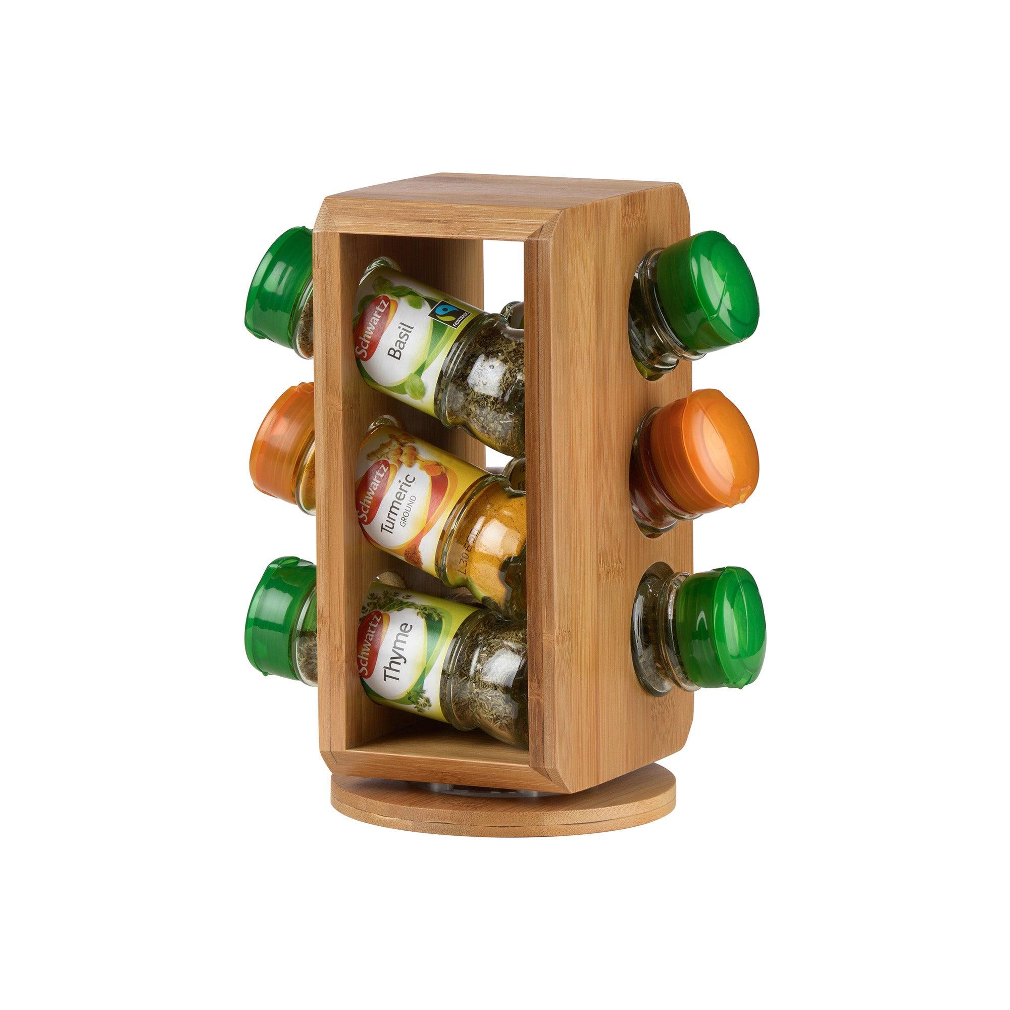 Schwartz 12 Jar Revolving Spice Rack