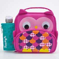 Smash 3D Owl Lunchbag and Bottle Set
