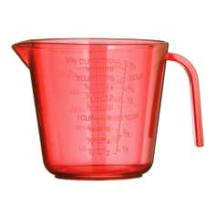 Red Spectrum Collection Measuring Jug