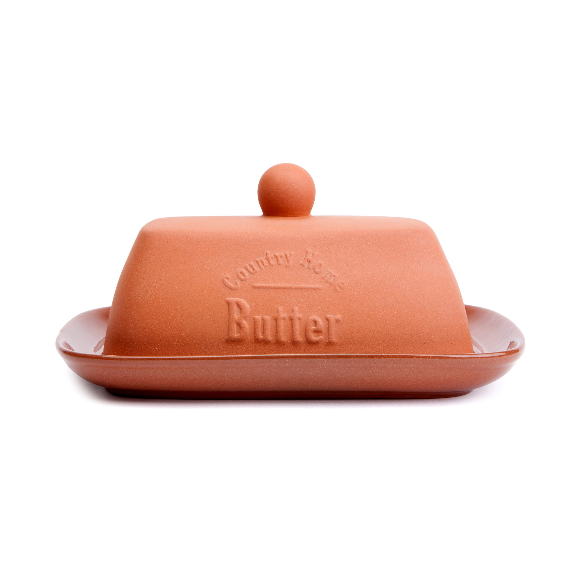 Terracotta Collection Butter Dish