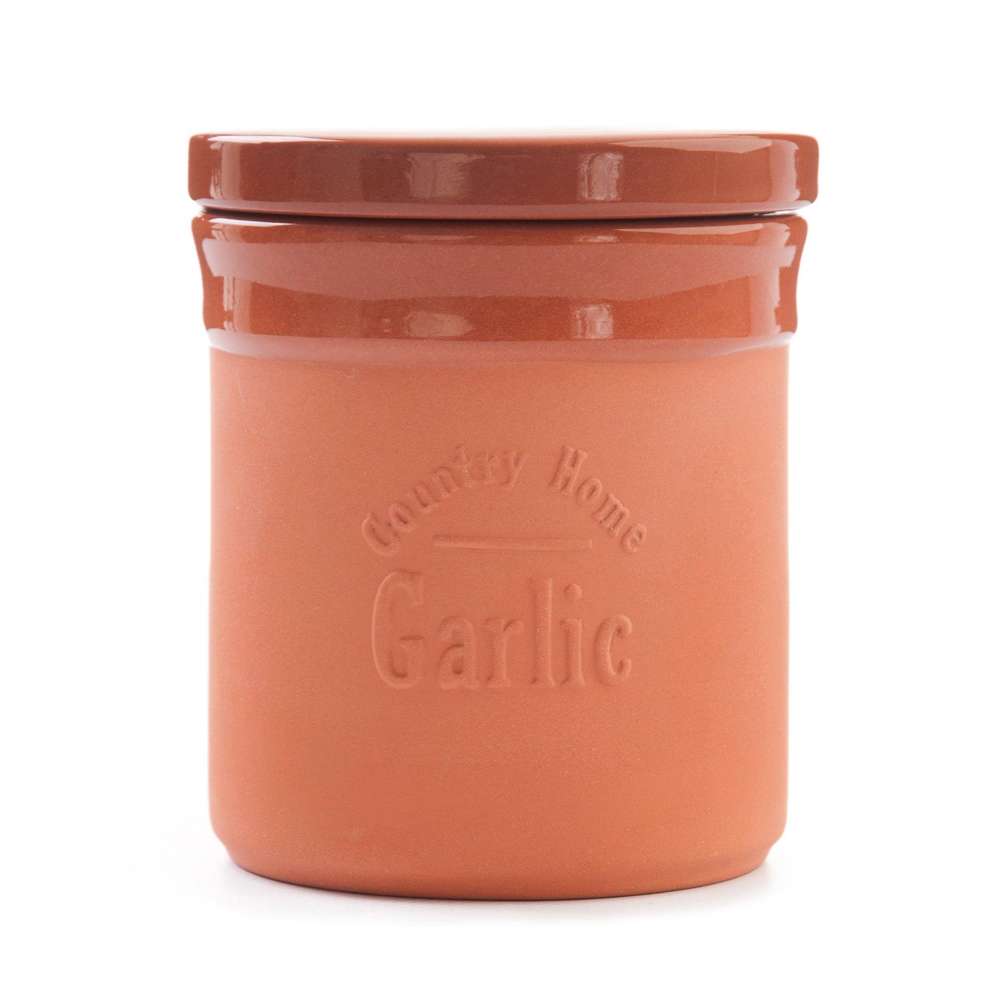 Terracotta Collection Garlic Storer