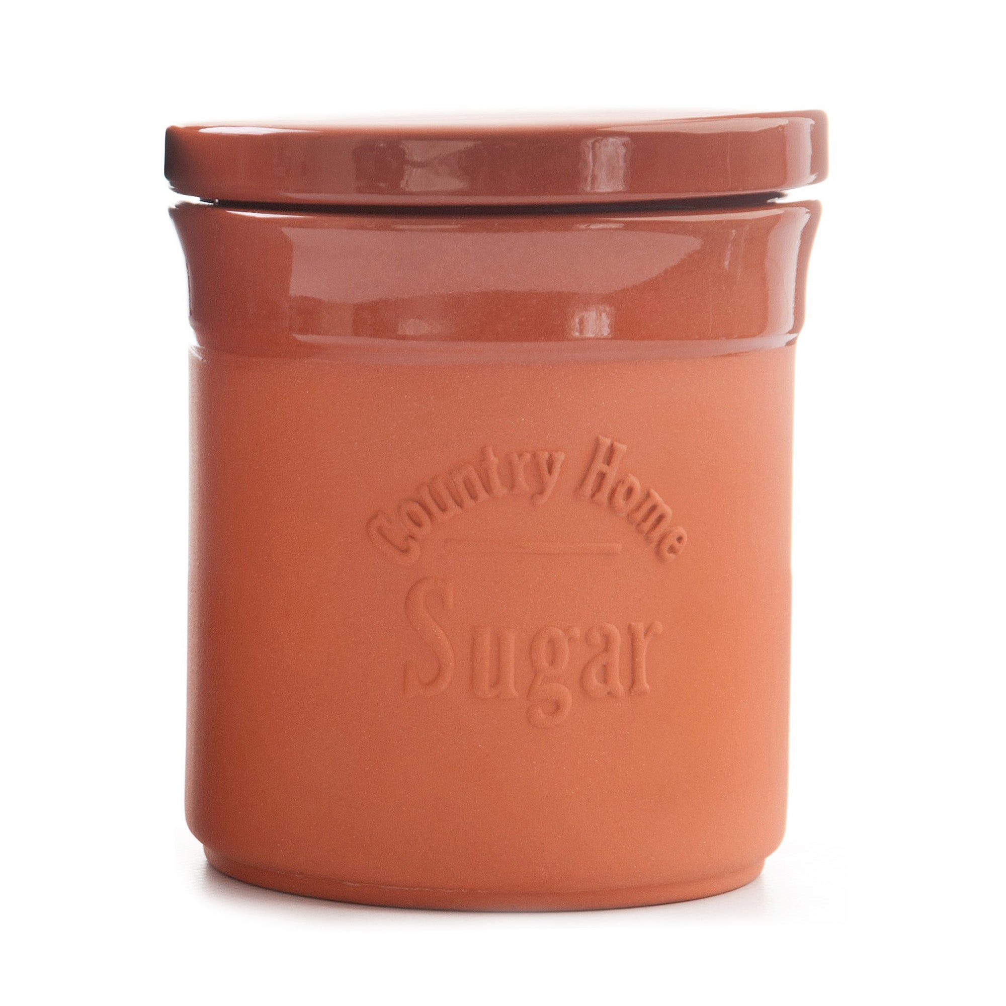 Terracotta Collection Sugar Canister