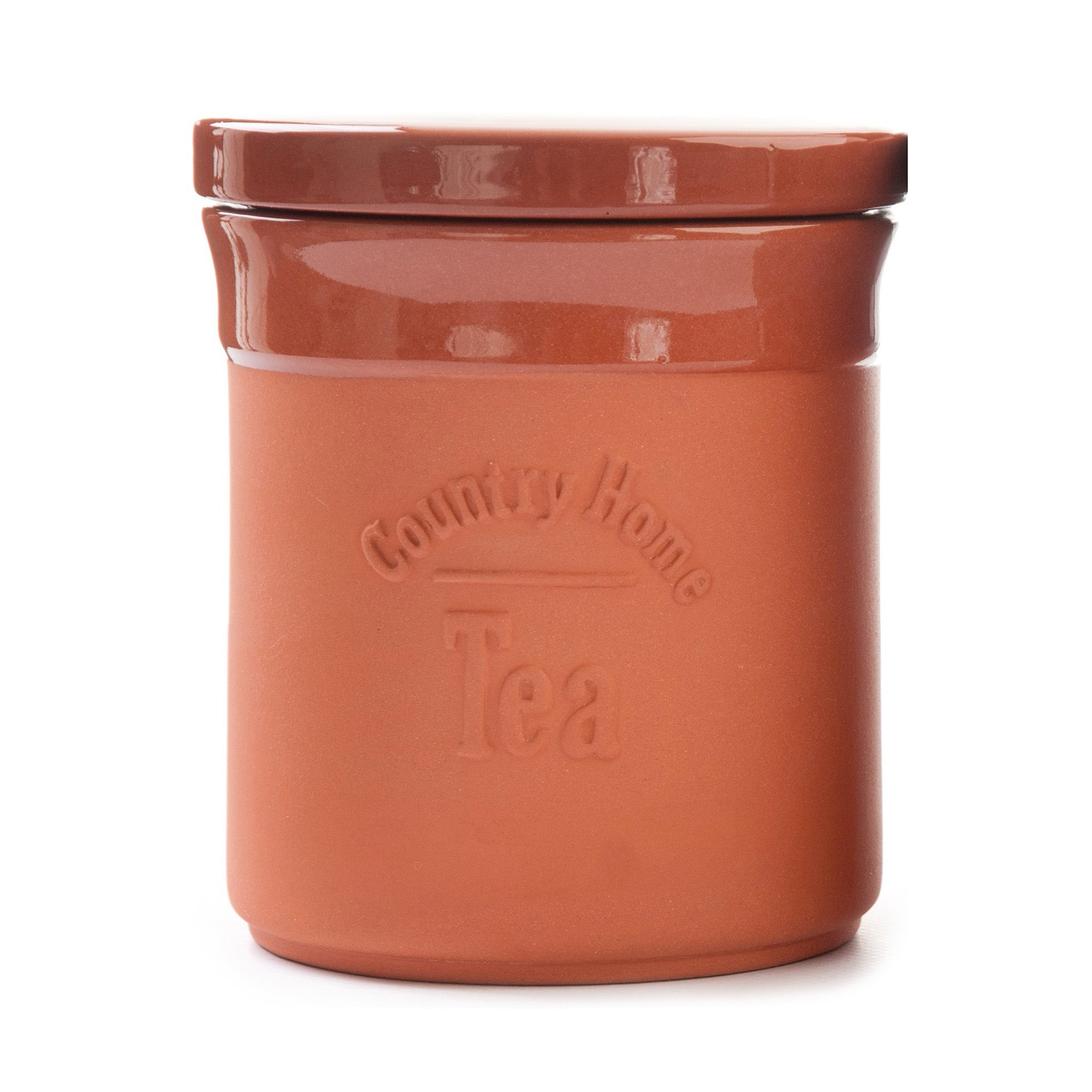 Terracotta Collection Tea Canister