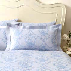 Dorma Blue Chateau Collection Oxford Pillowcase