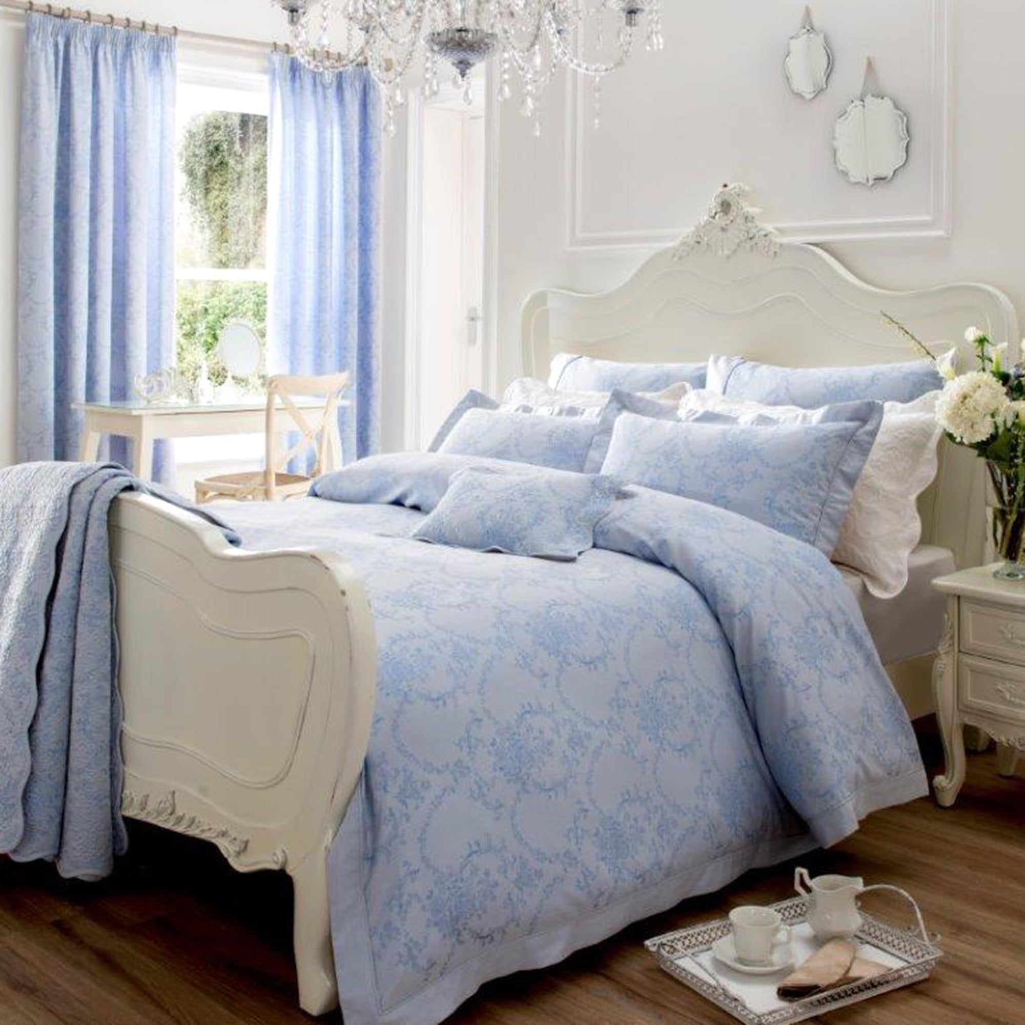 Dorma Blue Chateau Collection Duvet Cover Set