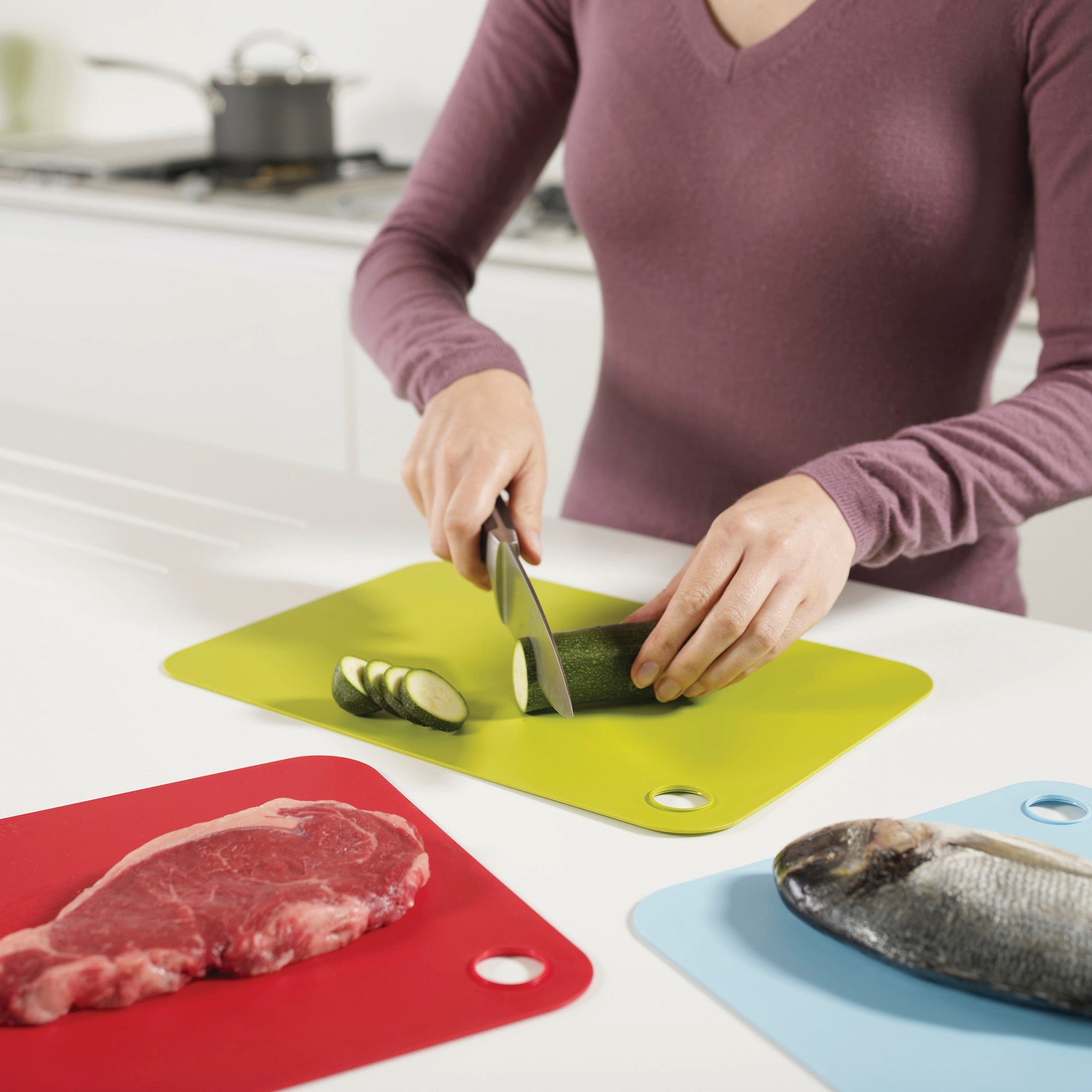 Joseph Joseph Set Of 3 Chopping Mats