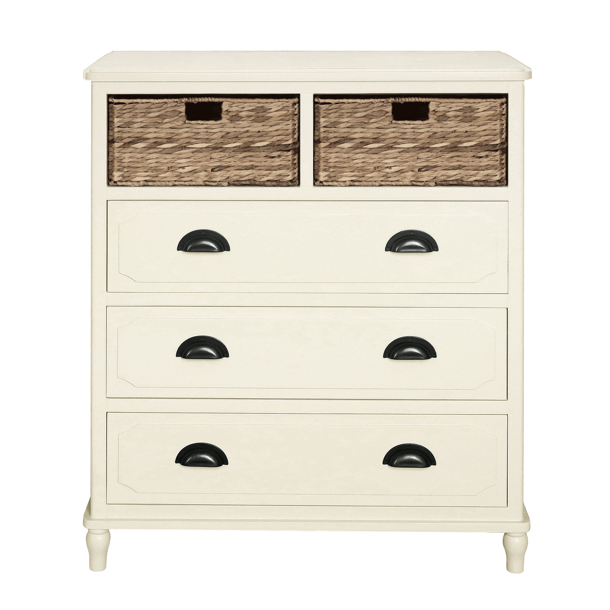 Devon Cream 5 Drawer Chest