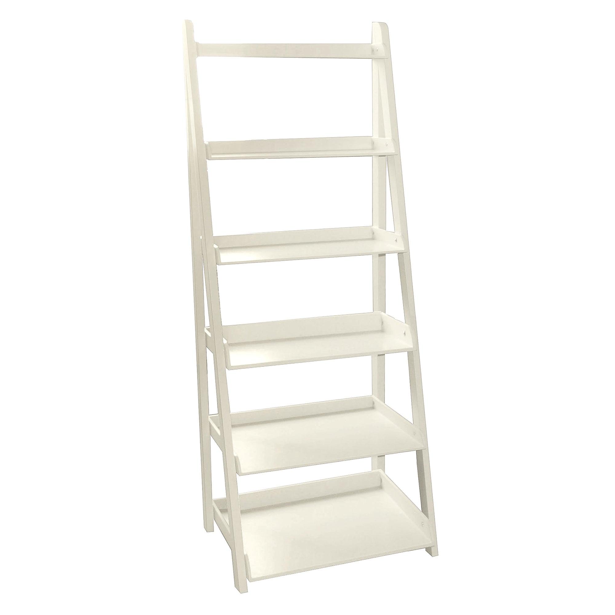 Devon Cream Ladder Bookcase
