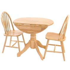 Cotswold Natural Round Table and Chairs