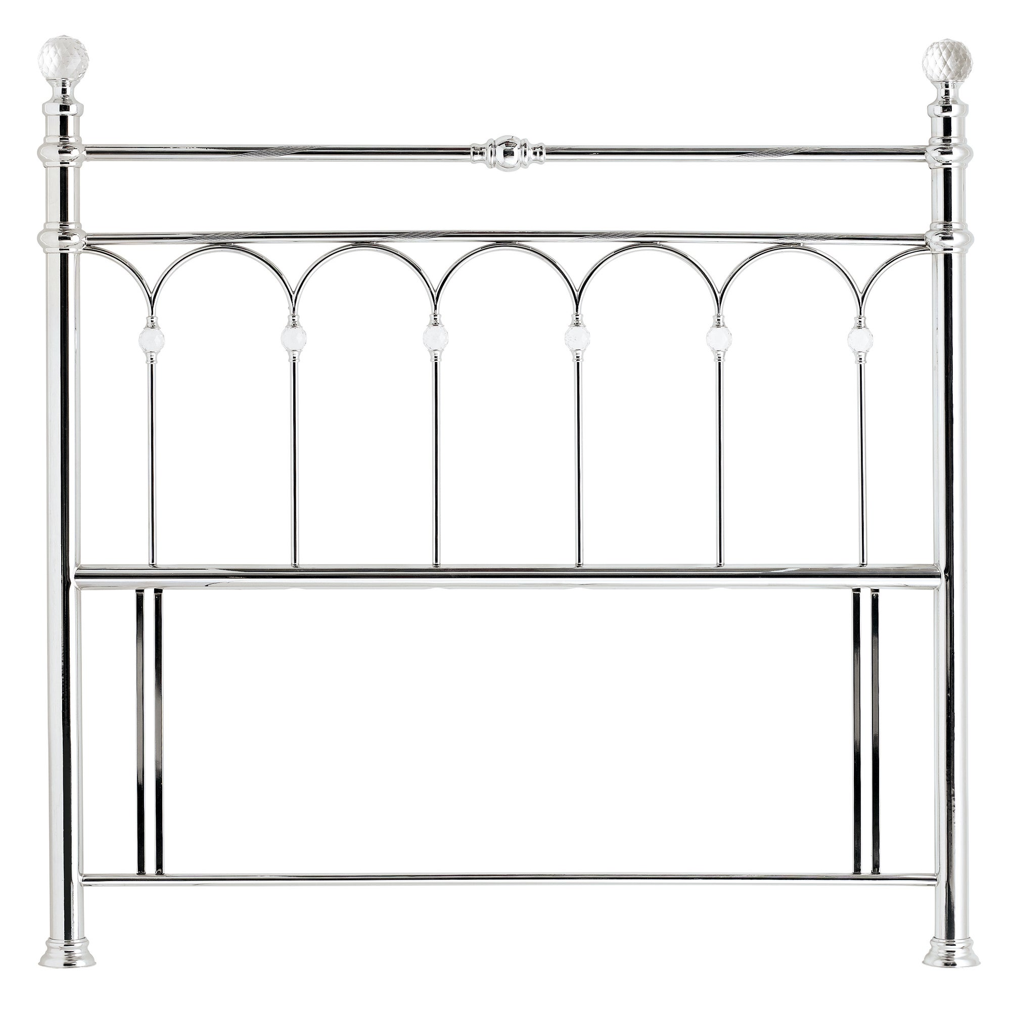 Carrington Chrome Headboard