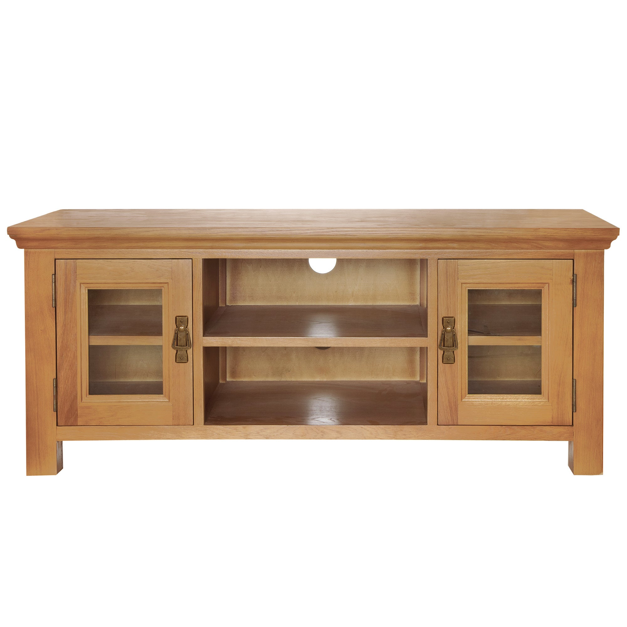 Dorchester Oak Wide TV Unit