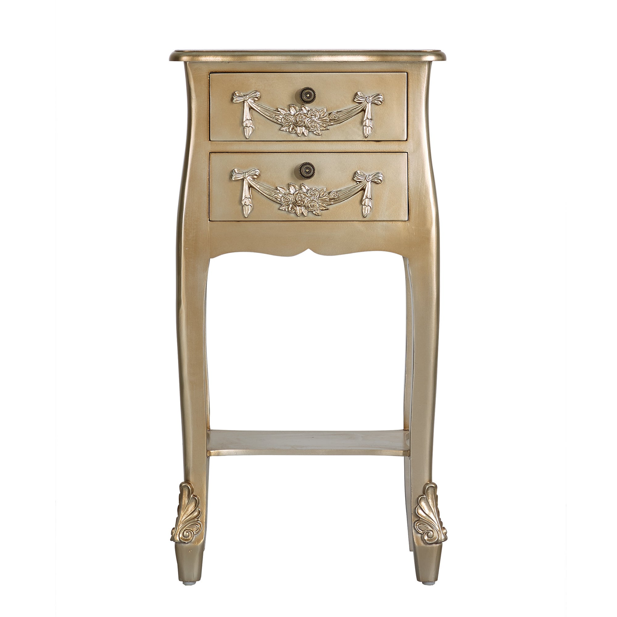 Toulouse Gold Nightstand