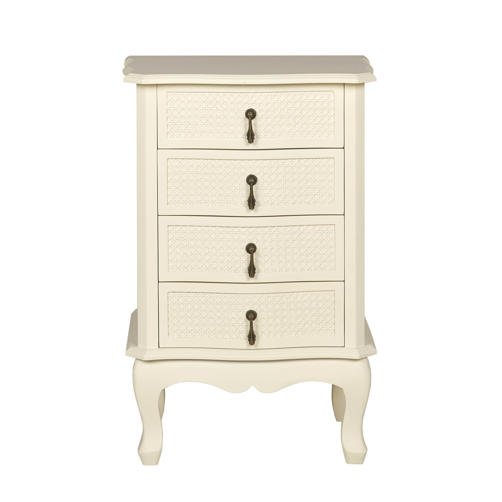 Collette Cream 4 Drawer Chest
