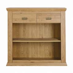 Langham Oak Console Bookcase