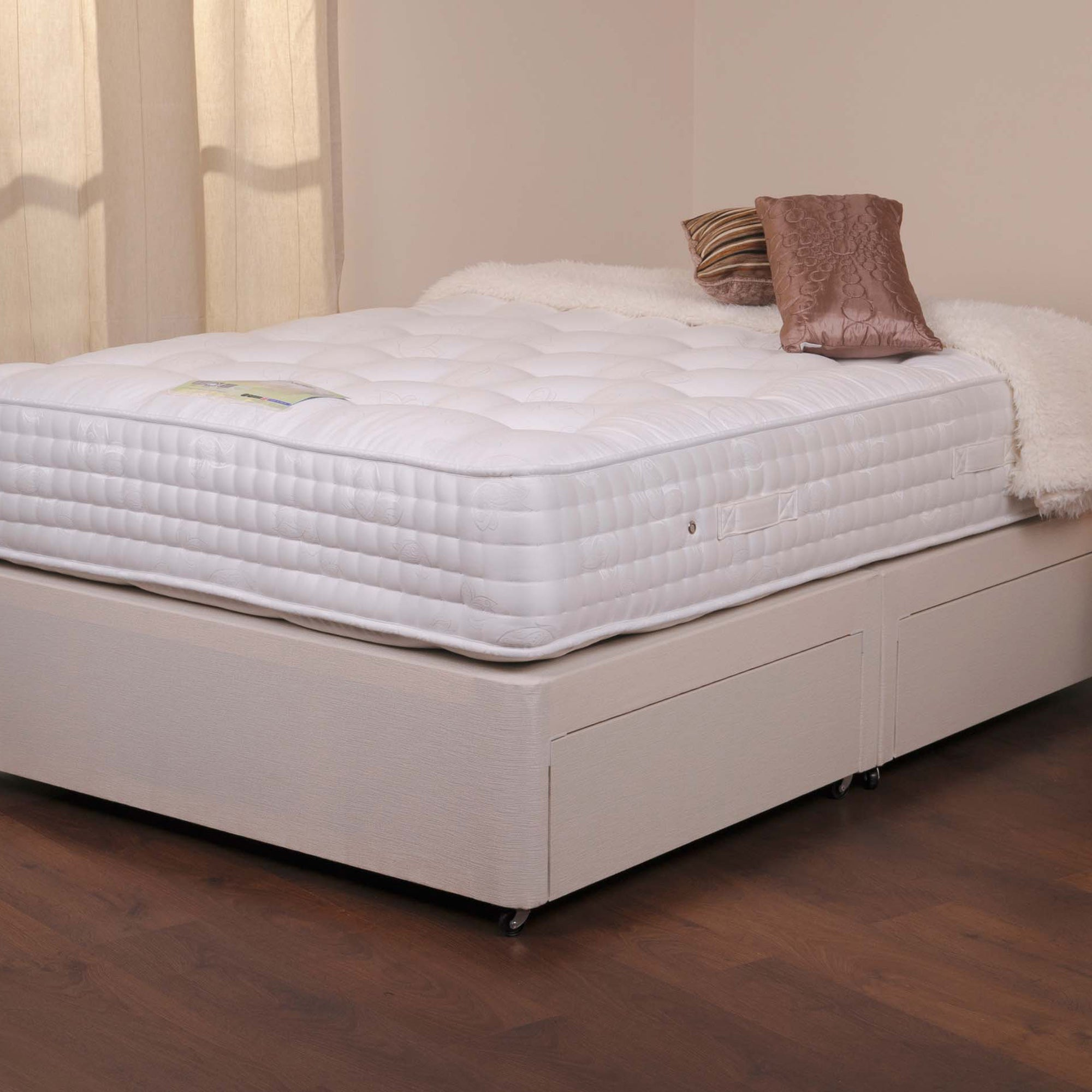 Marlow Sprung Edge Divan Set with Four Drawers