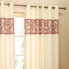 Heather Evie Thermal Eyelet Curtains