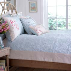 Duck Egg Evelyn Collection Bedspread