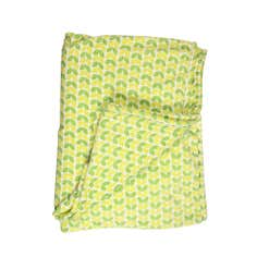 Green Birds Seriously Soft Throw