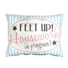 Retro Collection Feet Up Cushion