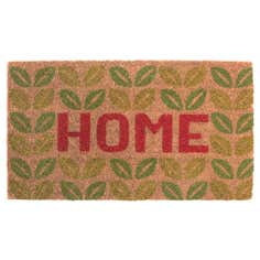 Home Leaves Coir Doormat