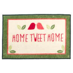 Home Tweet Home Washable Doormat
