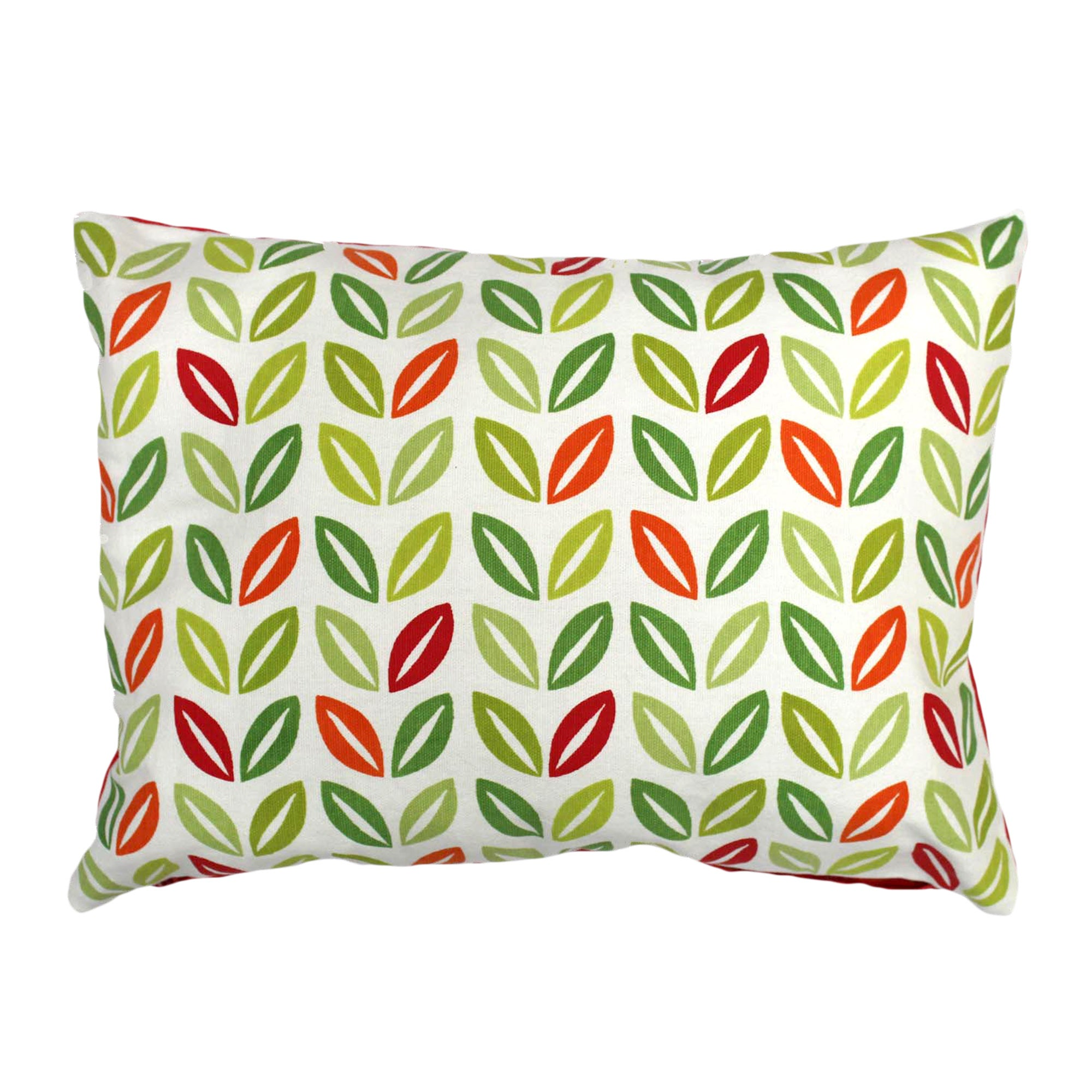 Funky Birds Collection Green Leaf Cushion
