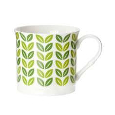 Funky Birds Collection Leaf Mug