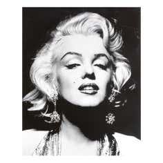 Marilyn Monroe Diamante Canvas