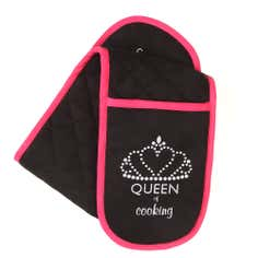 Queen of Everything Collection Double Oven Glove