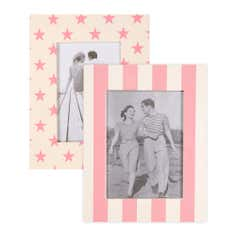 Retro Collection Pack of 2 Photo Frames