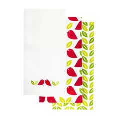 Funky Birds Collection Pack of Three Tea Towels