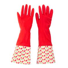 Birds Printed Rubber Glove