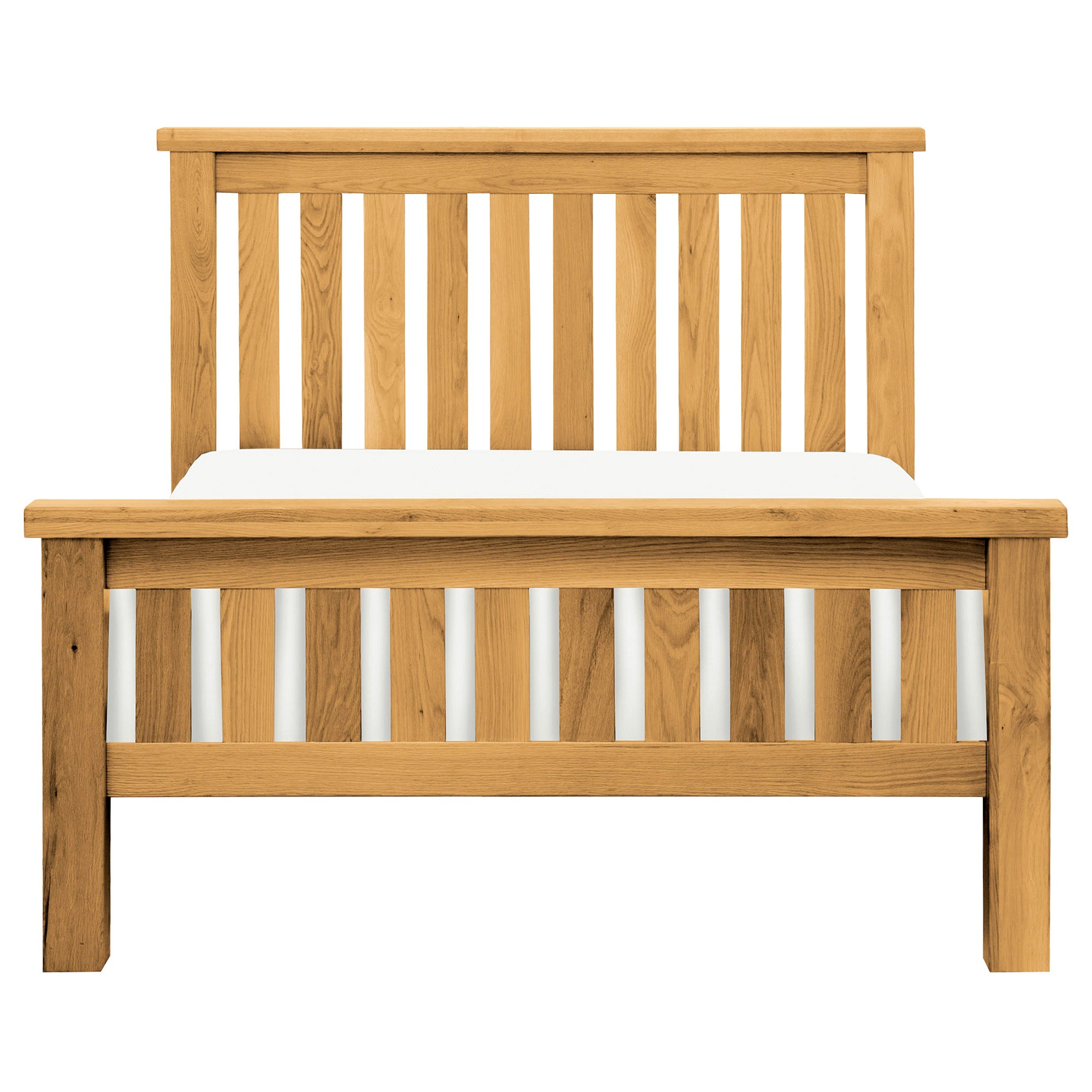 Harrogate Oak Slatted Bedstead