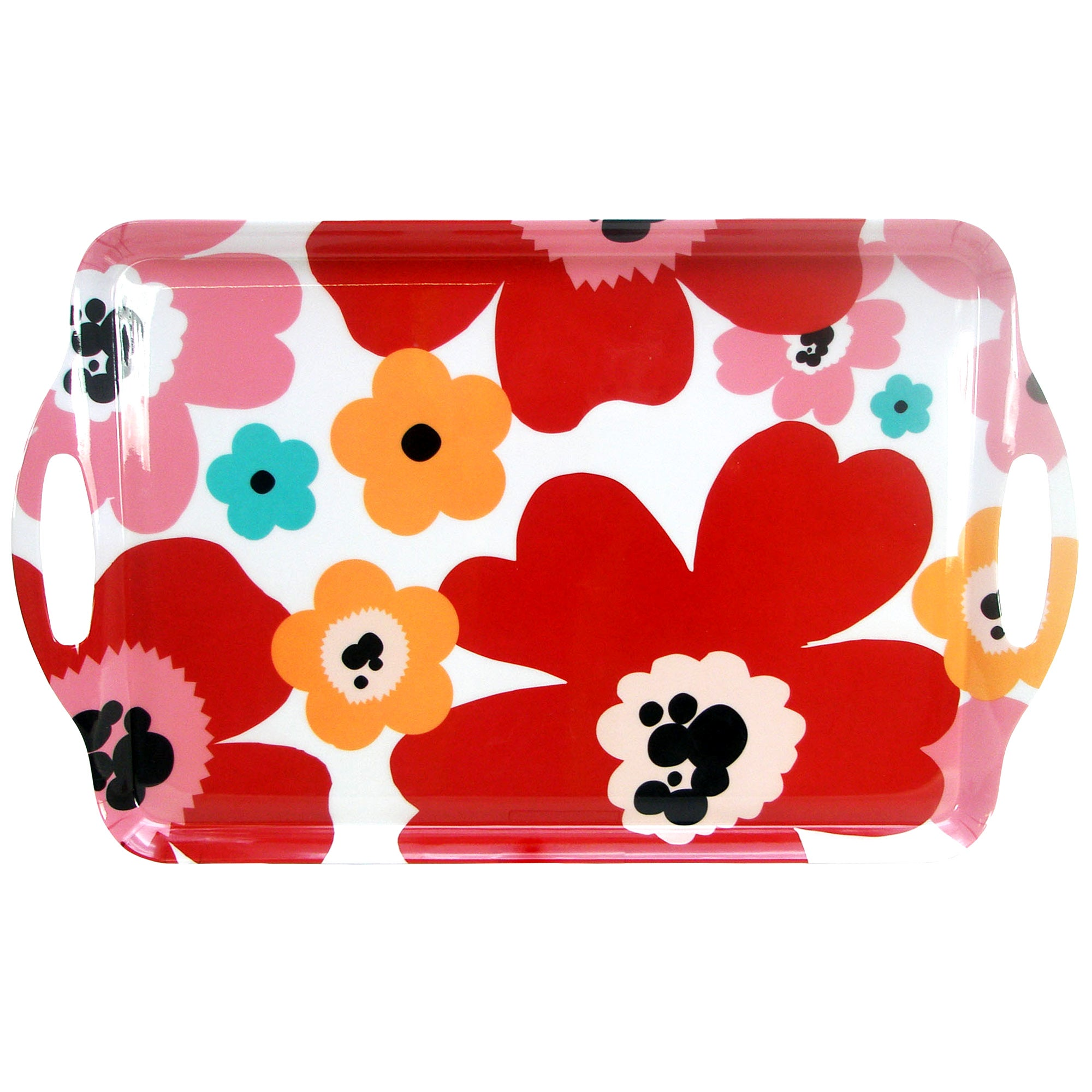 Aster Collection Large Floral Tray