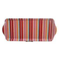 Aster Small Striped Serving Tray