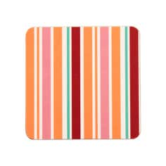 Aster Collection Pack of 4 Stripe Coasters