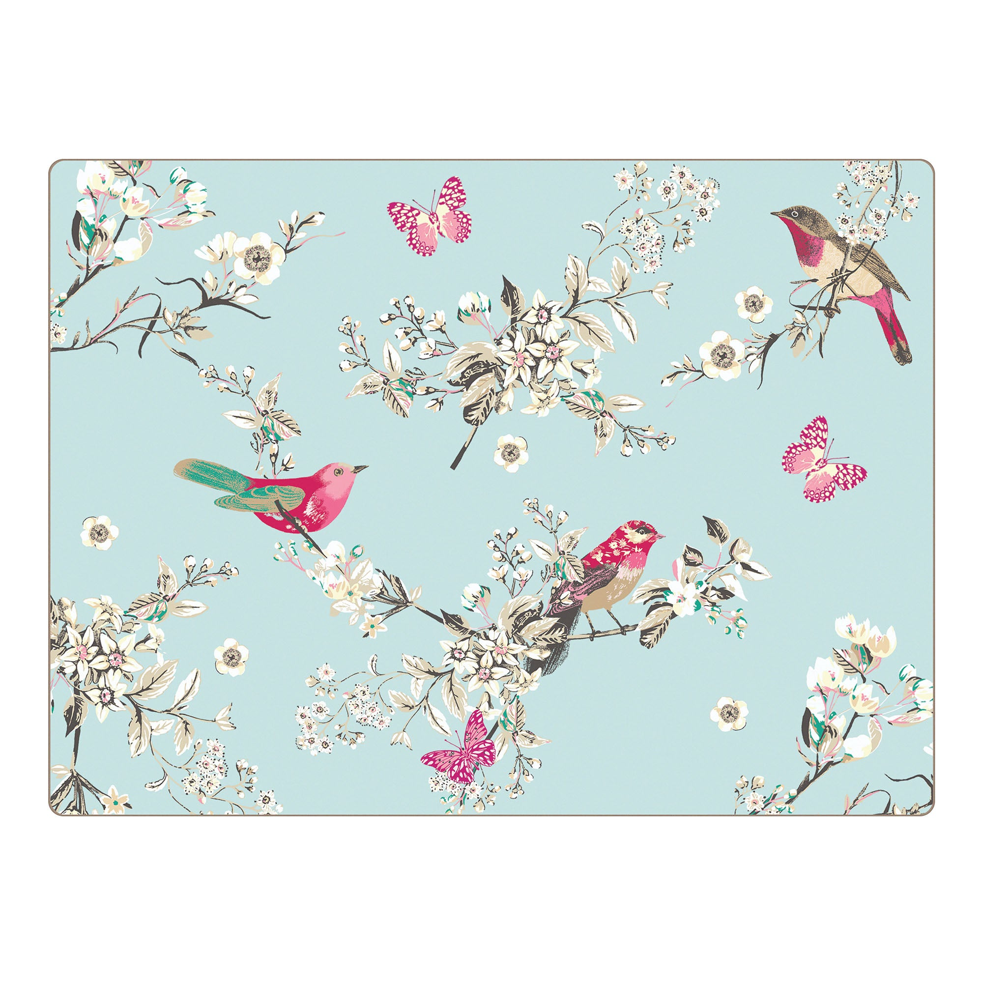 Pack of 4 Beautiful Birds Collection Placemats