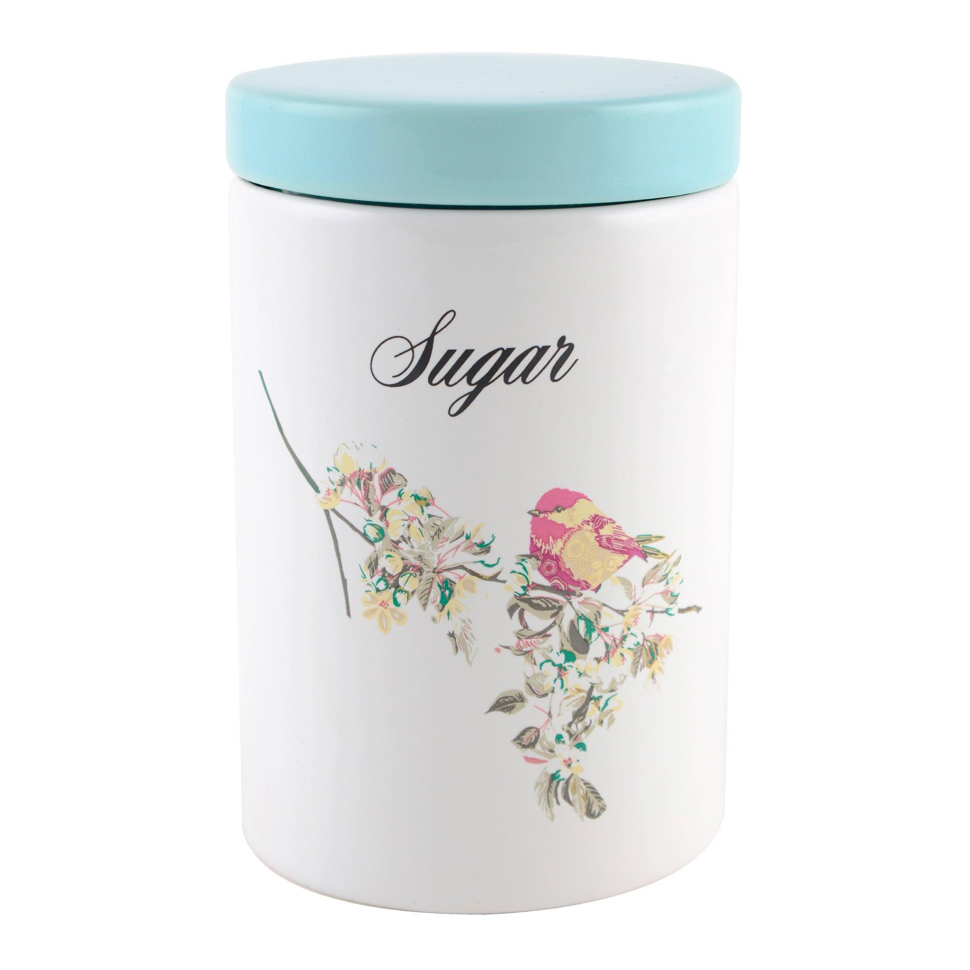 Beautiful Birds Sugar Storage Jar
