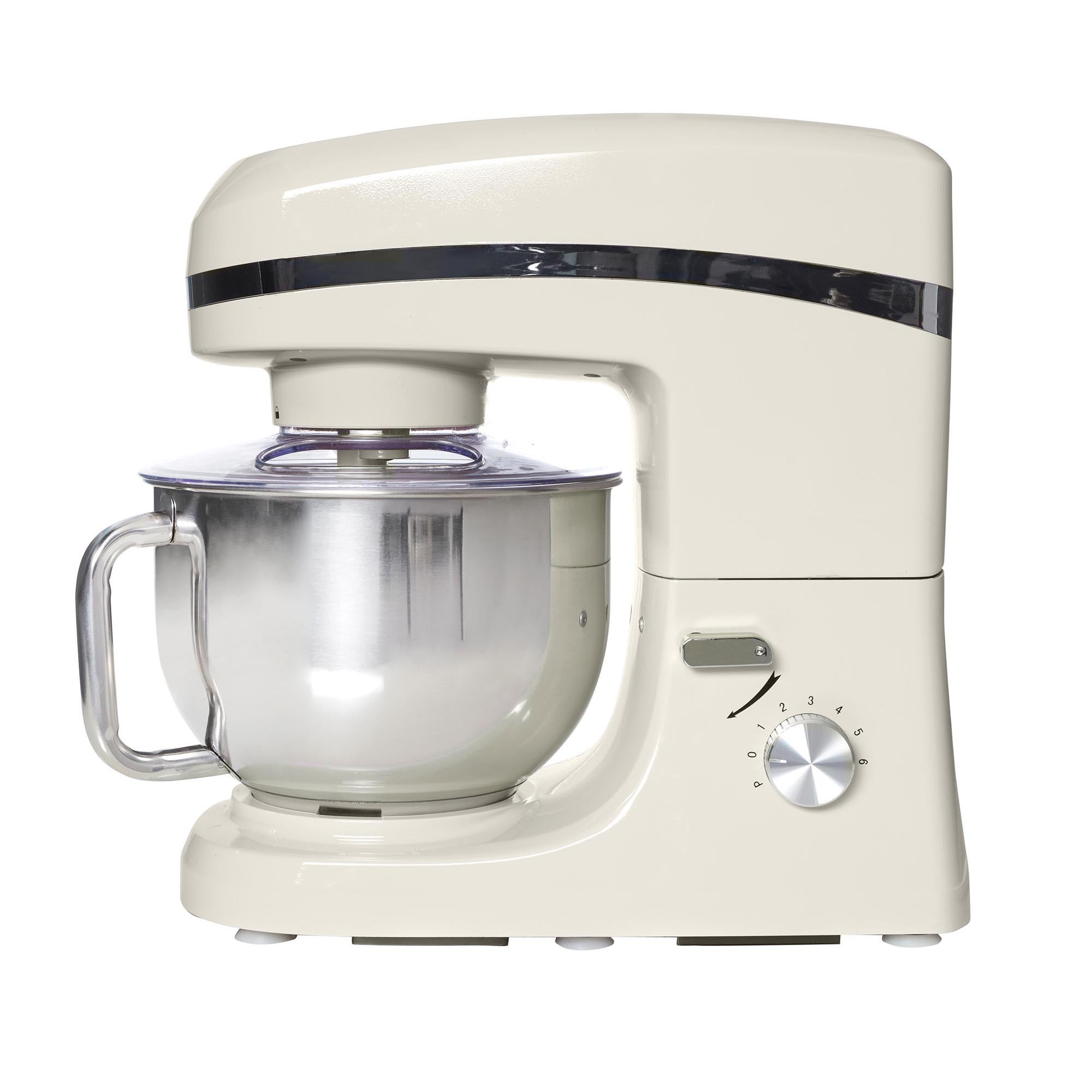 Candy Rose Collection 1000 watt Cream Stand Mixer