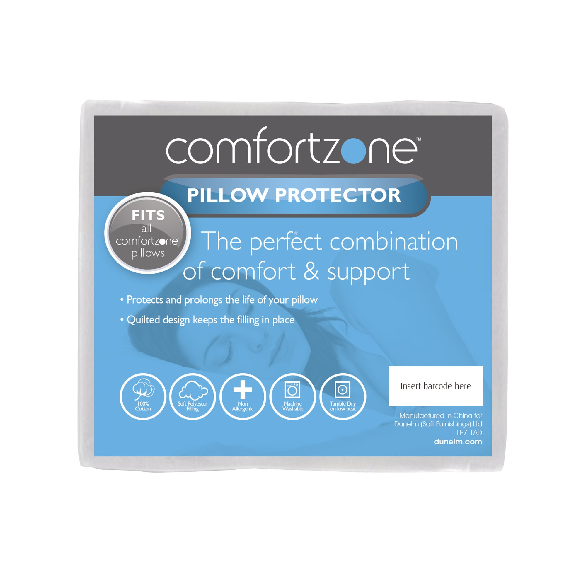 Comfortzone Zone Pillow Protector