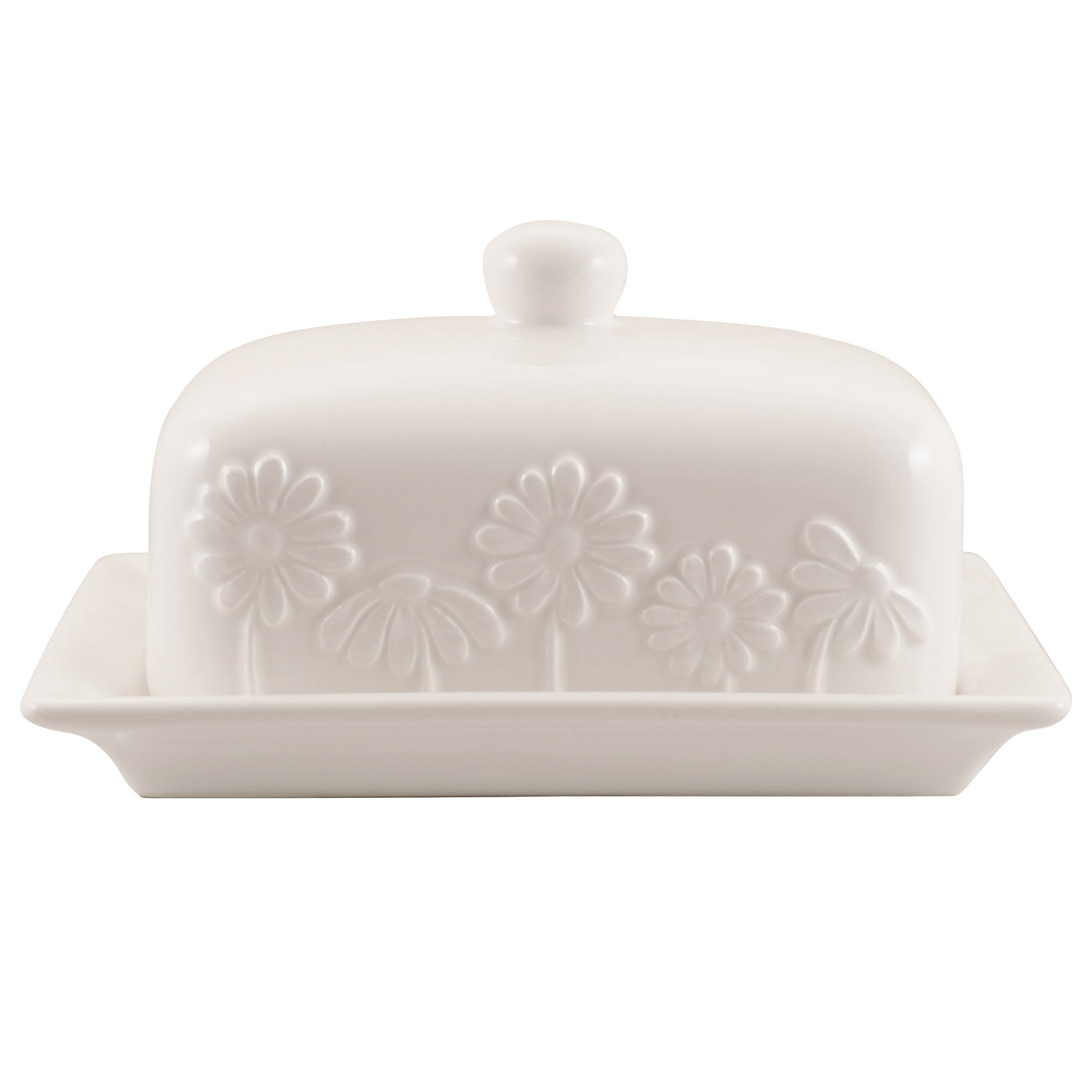 Daisy Collection Butter Dish
