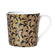 Gold Feather Dorset Mug