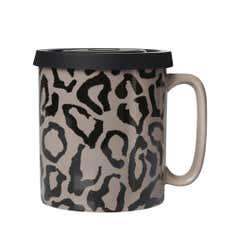 Leopard Print Pint Mug