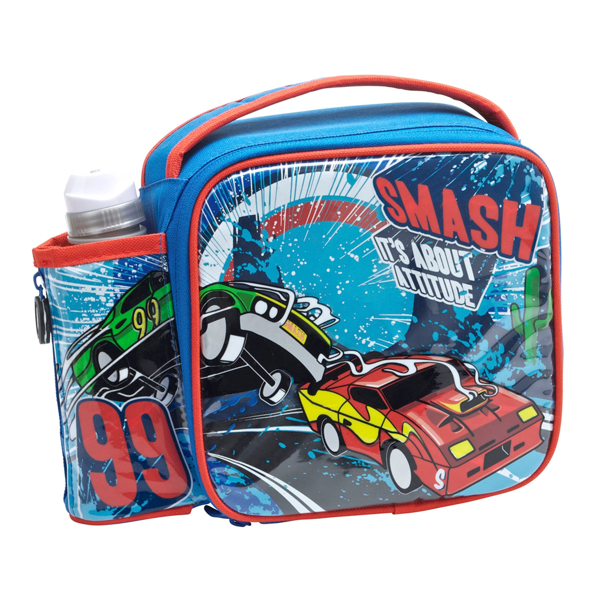Smash Exhaust Lunchbag and Bottle Set