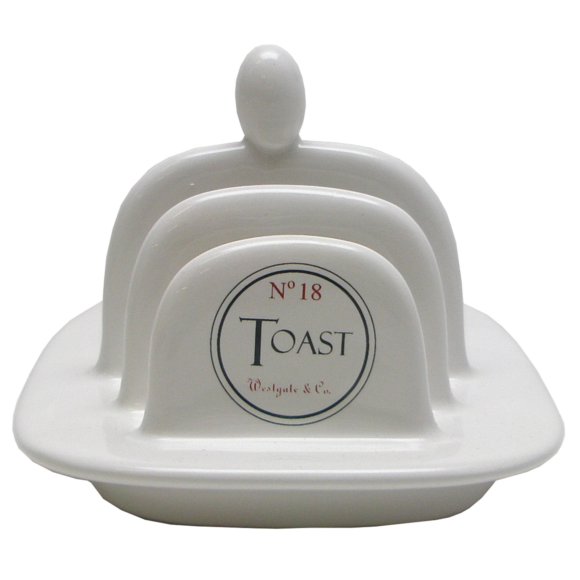Vintage Tea Sign Collection Toast Rack